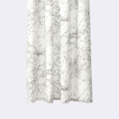 Gray Marble Pattern Shower Curtain