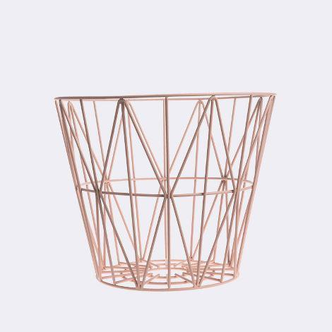 Assembly Home Pink Wire Table