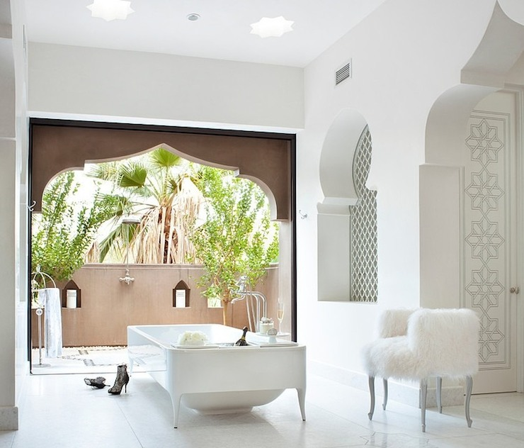 Bathroom Mediterranean Style: Moroccan Bathroom