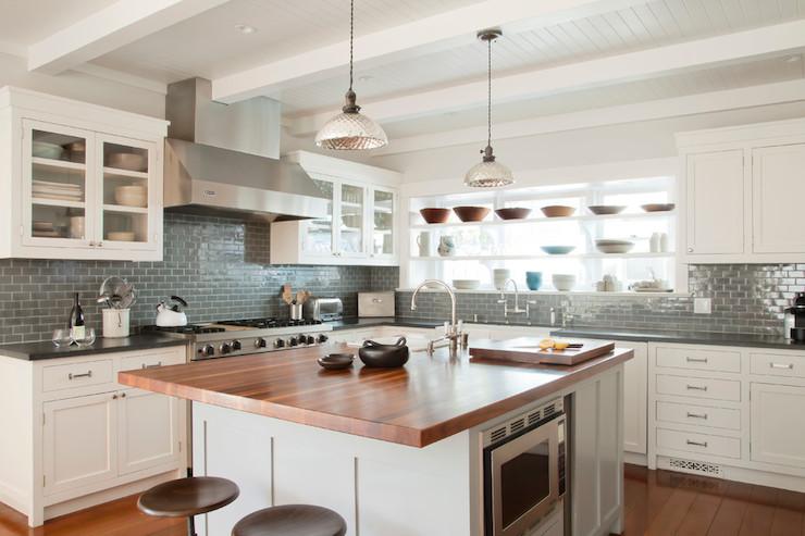 Sandstone Countertops Cottage Kitchen Martha Stewart