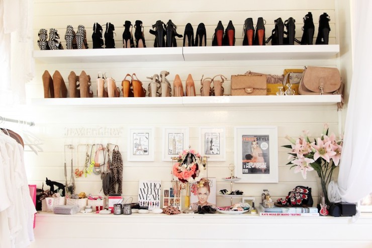 Walk In Closet With Vanity And Window