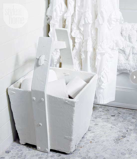 Toilet Paper Storage Ideas. Toilet Paper Storage Ideas   Transitional   bathroom   Style at Home