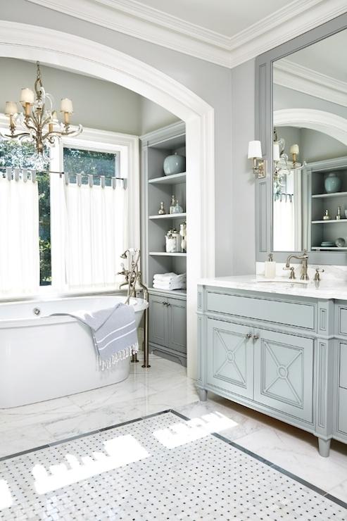 Gray Bathroom Ideas Transitional Bathroom Anne