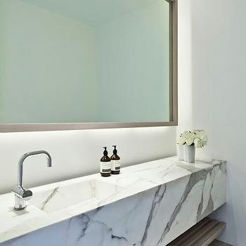Marble Sink Vanity, Modern, bathroom