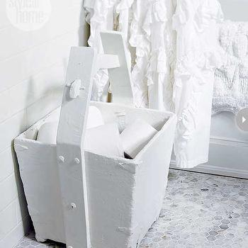 Toilet Paper Storage Ideas, Transitional, bathroom, Style at Home
