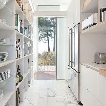 Galley Kitchen Ideas, Modern, kitchen, Heliotrope Architects