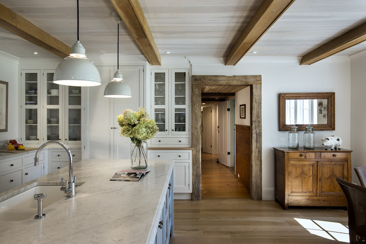 Rustic Farmhouse Kitchen rustic white kitchens design ideas