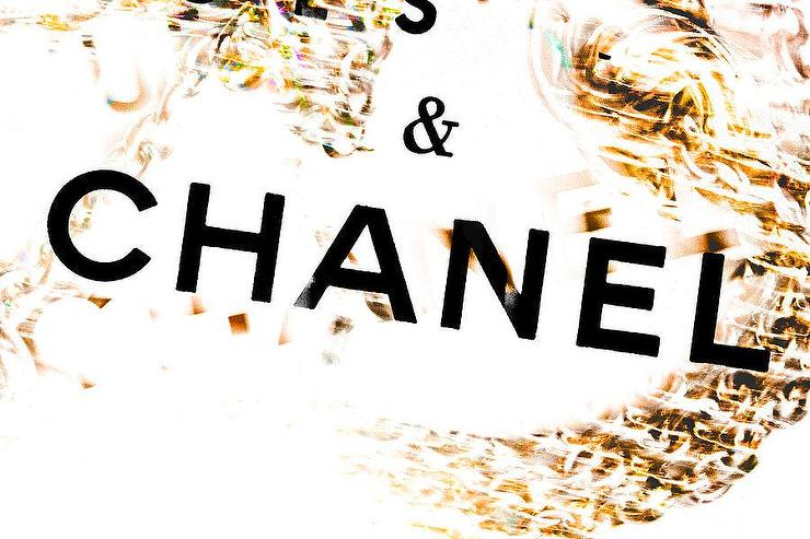 Chains Of Chanel Gold Photograph By Lisa Eryn
