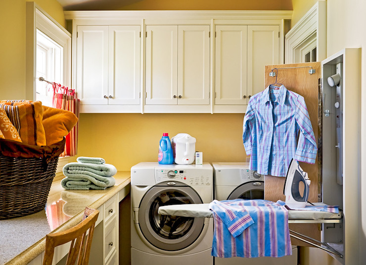 View Full Size Traditional Laundry Room