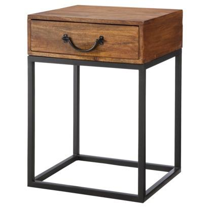 Captivating Threshold Mixed Material Wood And Metal Accent Table. Target.com