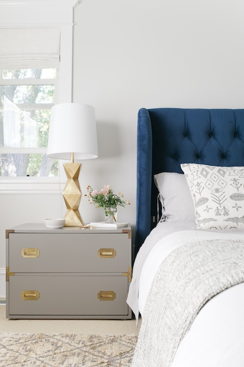 Blue And Gray Bedroom Vintage Bedroom Sherwin
