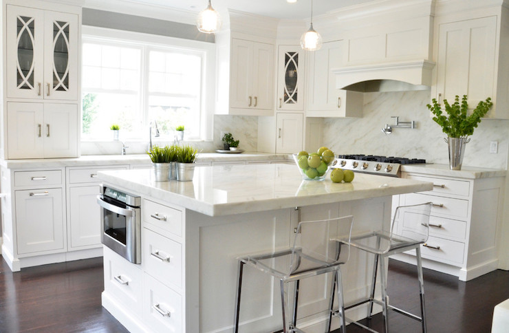 Vermont Danby Marble Transitional Kitchen Dearborn