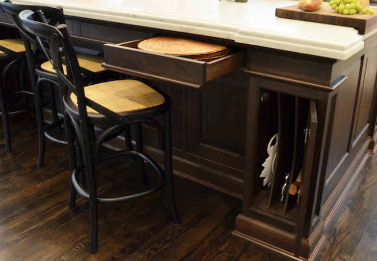 kitchen island storage design ideas
