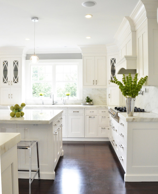 Danby Marble Transitional Kitchen Dearborn Cabinetry