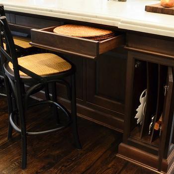 kitchen island storage design ideas