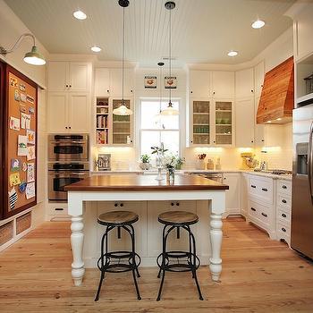 Corkboard Pantry Door Design Ideas