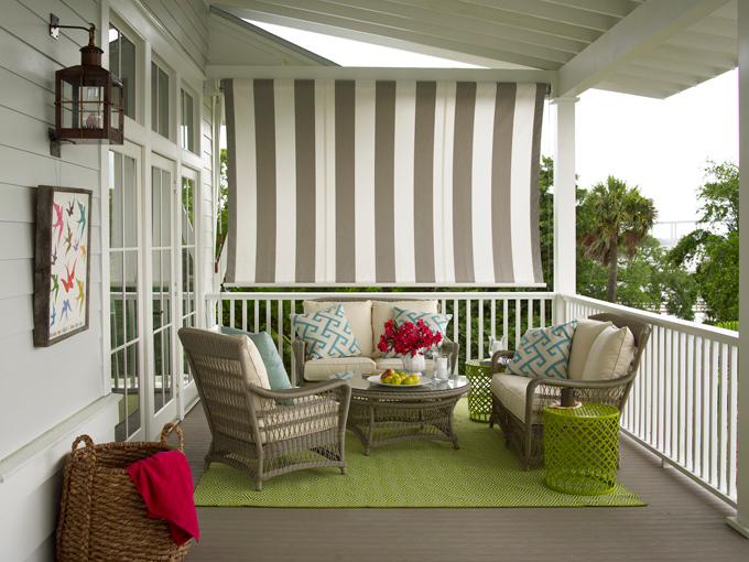 Covered Porch Cottage Porch Coastal Living