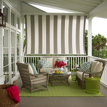 Covered Porch, Cottage, porch, Coastal Living