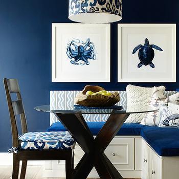 X Base Dining Table, Cottage, kitchen, Karen B Wolf Interiors
