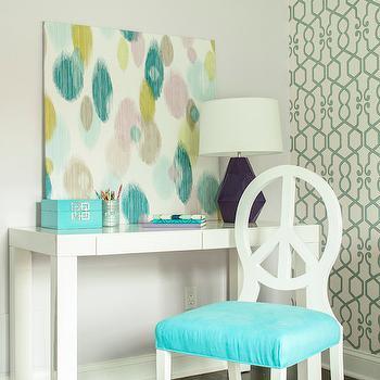 Turquoise Delta Lamp Design Ideas
