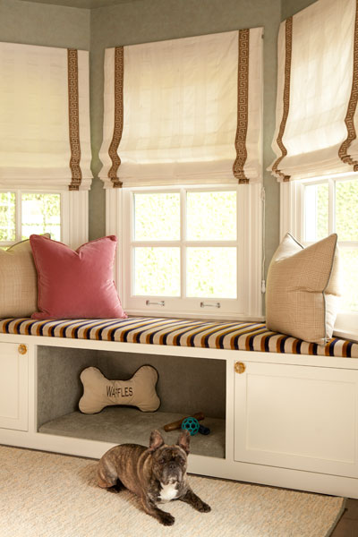 Built In Dog Bed Transitional Bedroom Jenn Feldman