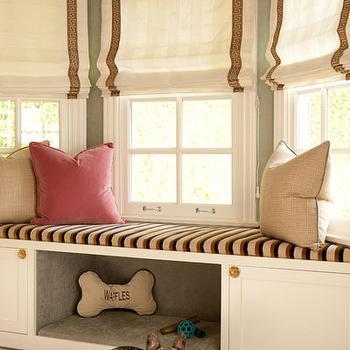 Built In Dog Bed, Transitional, bedroom, Jenn Feldman Designs