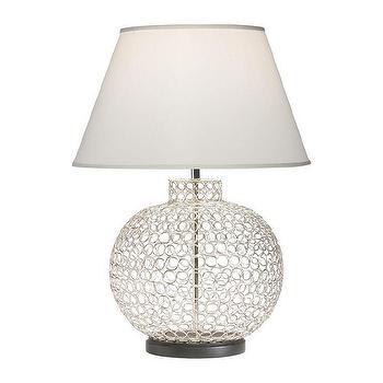 Openweave Nickel Table Lamp I Ethan Allen