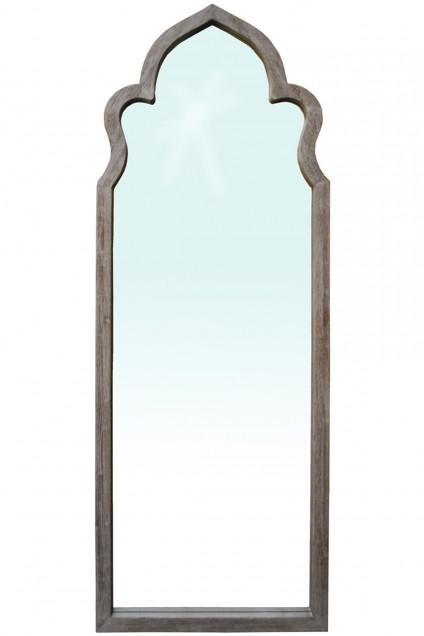 Birch Lane Shaw Brown Floor Mirror