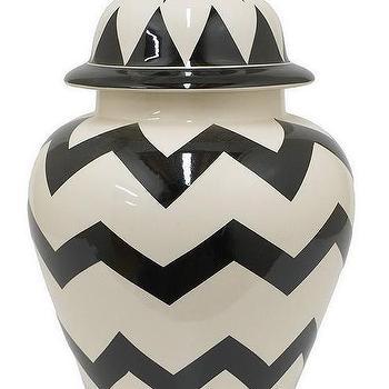 Zig Zag Temple Jar, HomeDecorators.com