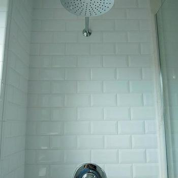 Beve;ed Subway Tiles, Traditional, bathroom, Design and Style Interiors