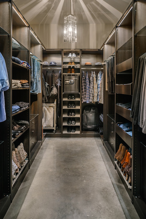 Mens Closet Contemporary Closet