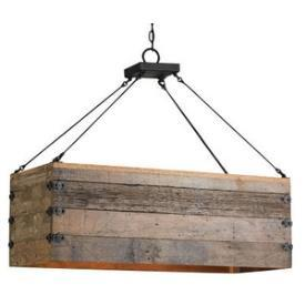 reclaimed wood chandelier build your own reclaimed wood three light rectangular chandelier
