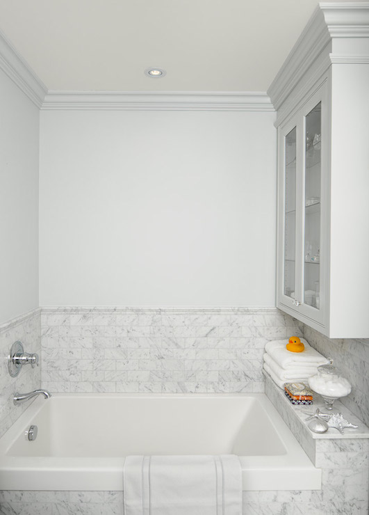 Drop In Tub Ideas Transitional Bathroom Emily Hollis