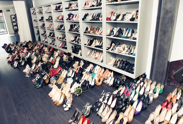 Shoe Cabinets Contemporary Closet The Coveteur