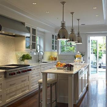 Long Kitchen, Transitional, kitchen, Deborah Wecselman Design