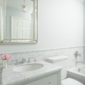 Grey Vanity, Transitional, bathroom, Emily Hollis Interior Design