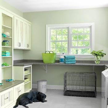 Laundry Room Shelves, Transitional, laundry room, Mitchell Wall Architecture and Design