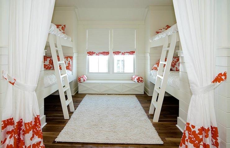 Curtains Ideas beach cottage curtains : Interior design inspiration photos by Romair Homes.