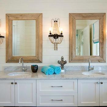 Beaded Sconces, Cottage, bathroom, Romair Homes