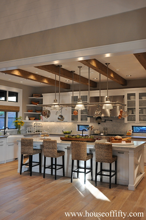 Bar Stools And High Table, Seagrass Counter Stools Transitional Kitchen House Of Fifty