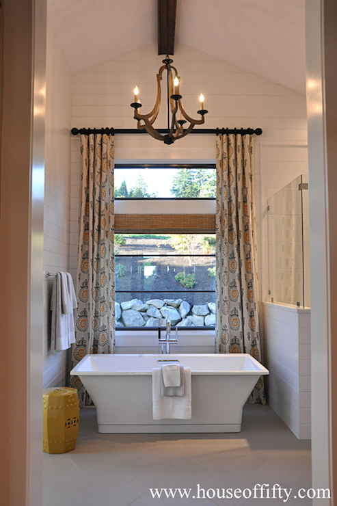 Bathroom Vaulted Ceiling Contemporary Bathroom House