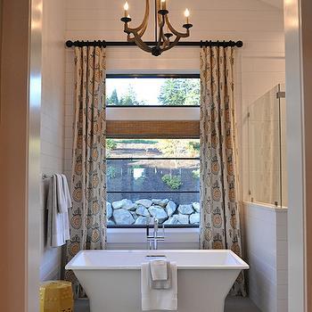 Bathroom Vaulted Ceiling, Contemporary, bathroom, House of Fifty
