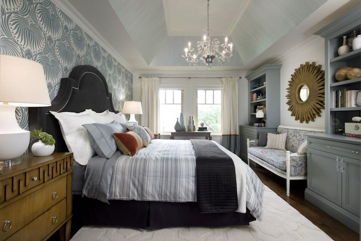 Greek Key Chest Transitional Bedroom Candice Olson