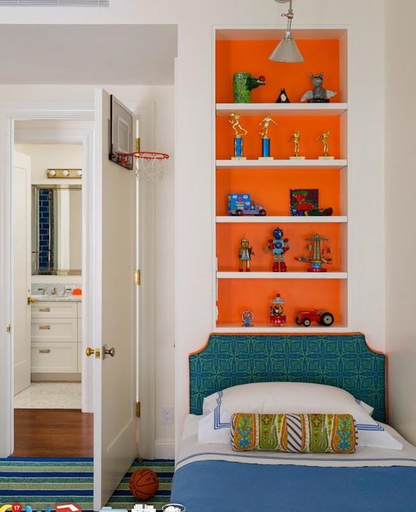 Living Room Recessed Shelves: Trevor Tondro