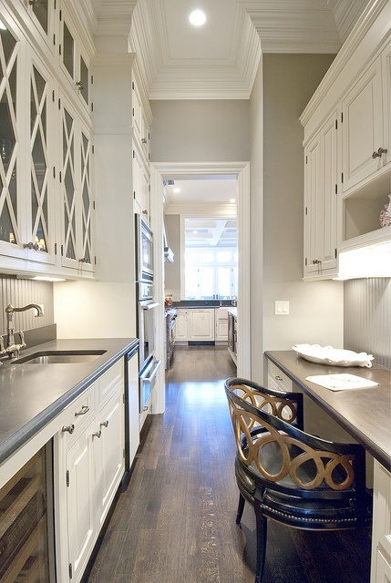 Long Butler S Pantry Transitional Kitchen