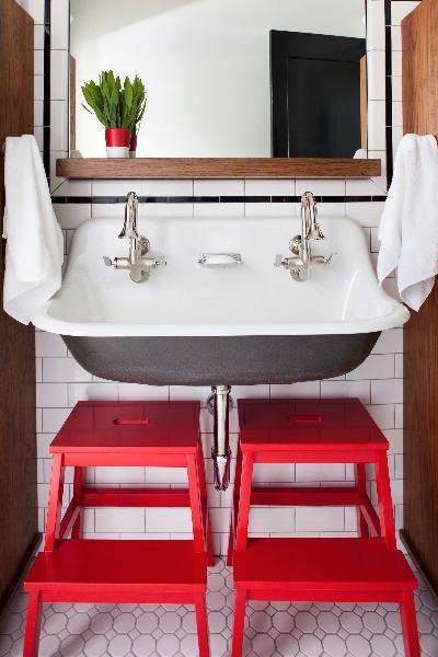 Kids Bathroom, Vintage, bathroom, TerraCotta Properties