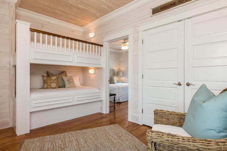 Coastal Bunk Room Cottage Boy S Room Pat O Neal