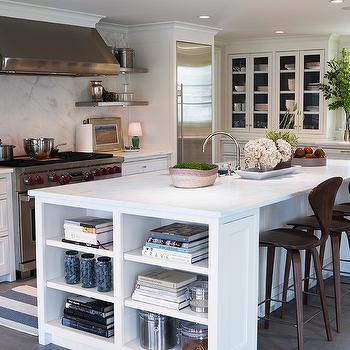 Island Bookcase, Cottage, kitchen, Sage Design