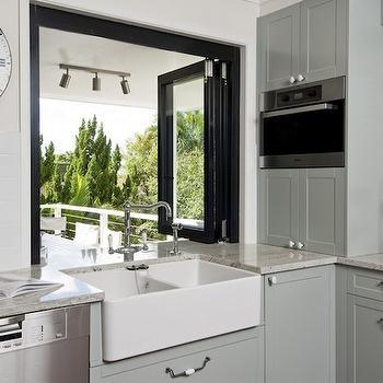 Deck Kitchen Pass Through Design Ideas