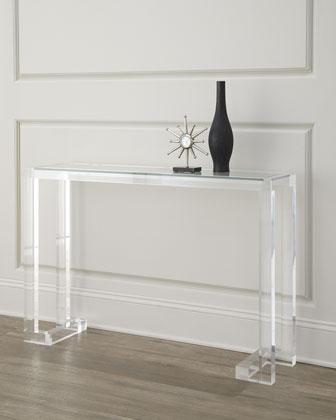 Clearview Mordern Acrylic Console